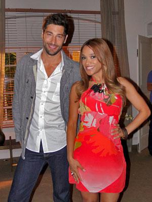 Victor Pecoraro e Leilah Moreno arriscam palpites sobre o BBB 12 (Foto: Aquele Beijo/TV Globo)