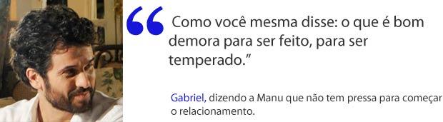 Gabriel tranquiliza Manu (Foto: A Vida da Gente / TV Globo)