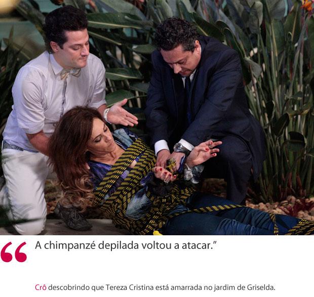 Crô frase 1 (Foto: Fina Estampa/ TV globo)