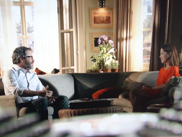 Lorena e Lourenço, cada vez mais parceiros (Foto: A Vida da Gente / TV Globo)