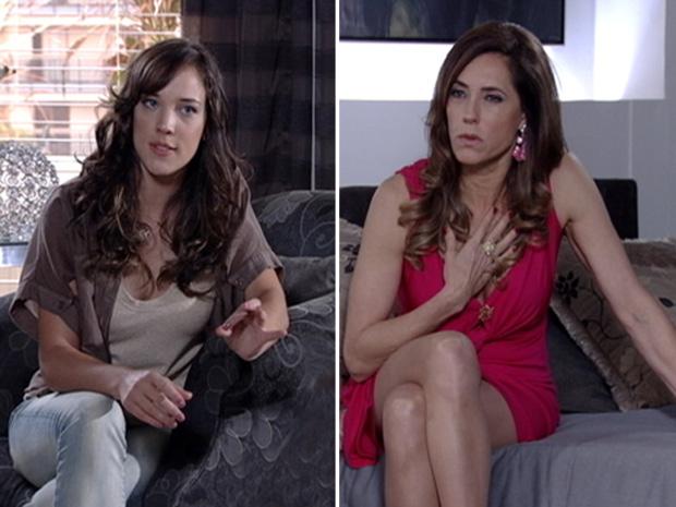 Patrícia acusa a mãe de sequestrar Antenor (Foto: Fina Estampa/ TV globo)