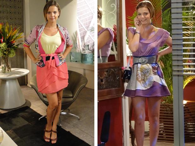 Saia é peça-chave do figurino de Vanessa (Foto: Fina Estampa/TV Globo)
