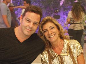 Rodrigo Trussardi e Marília Pêra (Foto: Aquele Beijo/TV Globo)