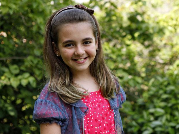 Na trama, personagem de Klara Castanho terá dons especiais (Foto: Amor Eterno Amor/TV Globo)