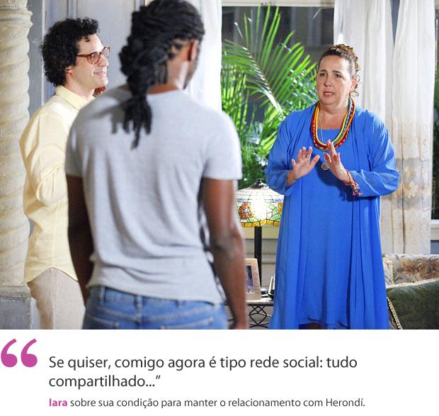 Iara_aspas (Foto: Aquele Beijo/TV Globo)