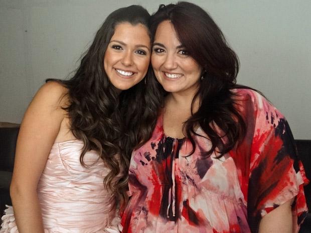 Malu Stanchi e Renata Celidonio (Foto: Aquele Beijo/TV Globo)
