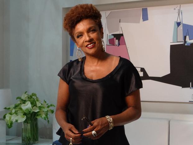 Elisa Lucinda entra para o elenco de Aquele Beijo como Deusa (Foto: Aquele Beijo/TV Globo)