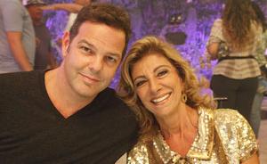 Rodrigo Trussardi é o estilista por trás da coleção de Marisol na Comprare (Aquele Beijo / TV Globo)