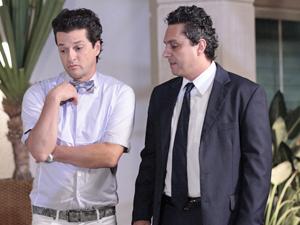 Crô vai se afastar de Baltazar nos próximos capítulos (Foto: Fina Estampa/TV Globo)
