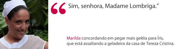 Marilda (Foto: Fina Estampa/ TV globo)