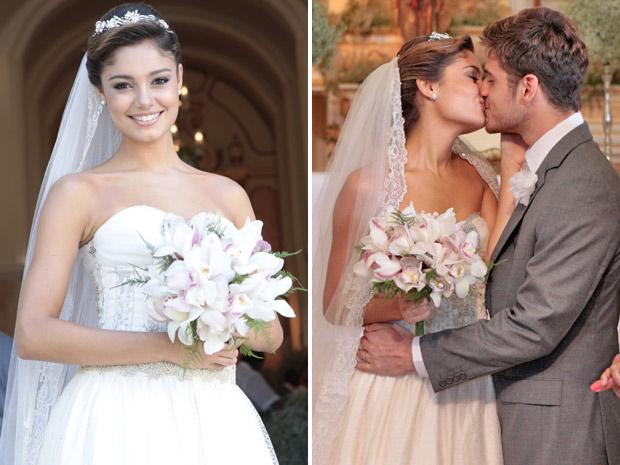 Amália e Rafael casamento Fina Estampa