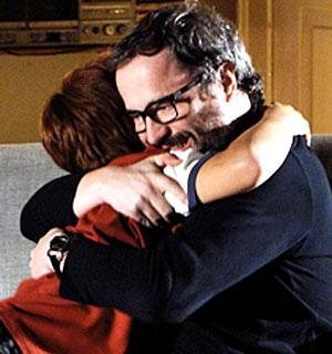 Lourenço conta a Tiago que é seu pai (A Vida da Gente/TV Globo)