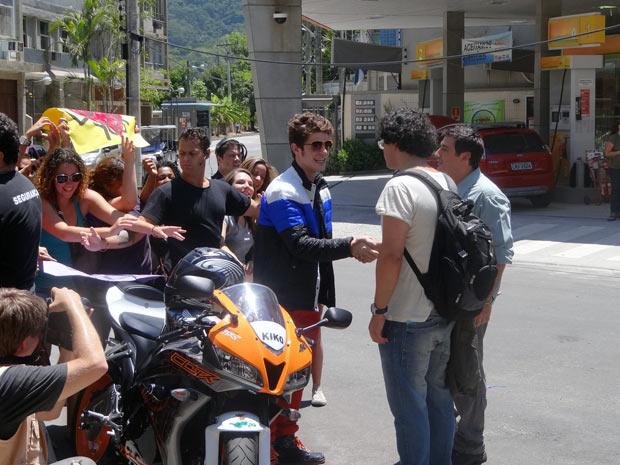 Fabiano diz que não vai dirigir Kiko em seu filme (Foto: Malhação / TV Globo)