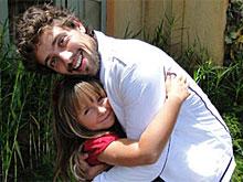 Jesuela diz que ator é pai postiço (A Vida da Gente/TV Globo)
