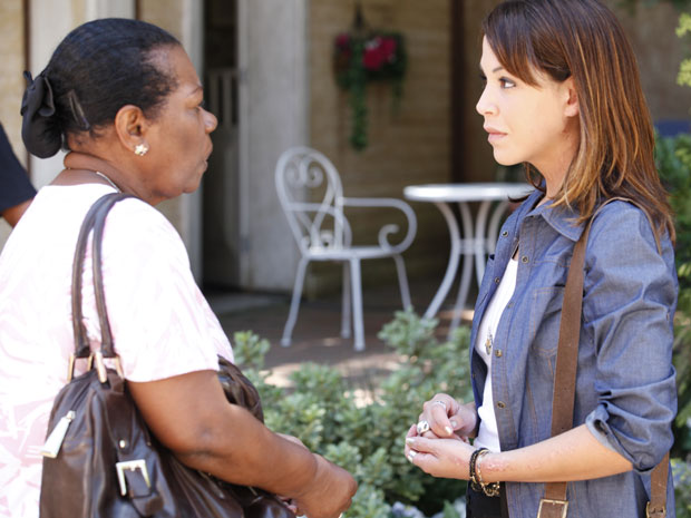 Lorena conta para Maria sobre a traição de Matias e diz que não irá perdoá-lo (Foto: A Vida da Gente)