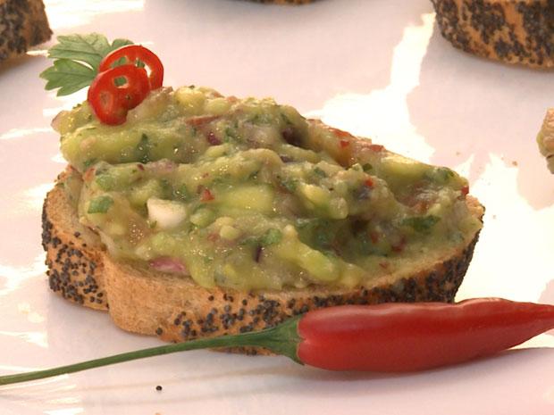Para saborear com os amigos, a Bruschetta é a melhor pedida (Foto: A Vida da Gente / TV Globo)