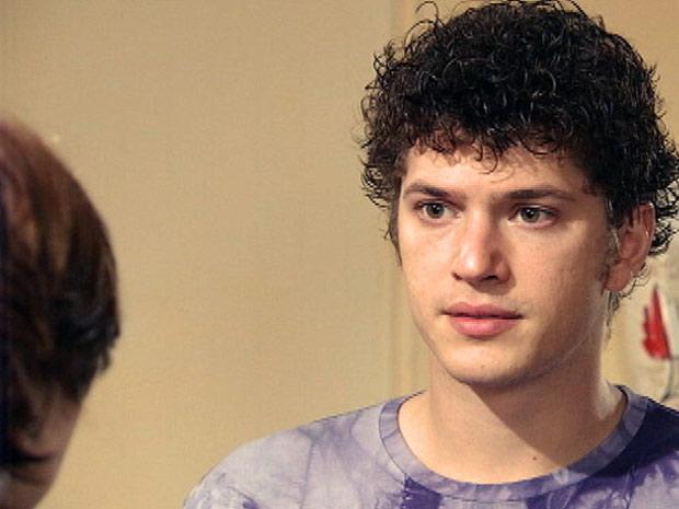 Gabriel pede um tempo para Alexia  (Foto: Malhação / TV Globo)