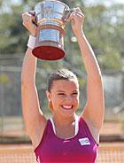 Sofia vira tenista profissional  (A Vida da Gente/TV Globo)