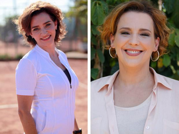 Gisele Fróes e Ana Beatriz Nogueira falam sobre suas personagens (Foto: A Vida da Gente / TV Globo)