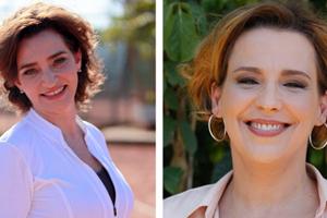 Ana Beatriz e Gisele Fróes falam das megeras (A Vida da Gente/ TV Globo)