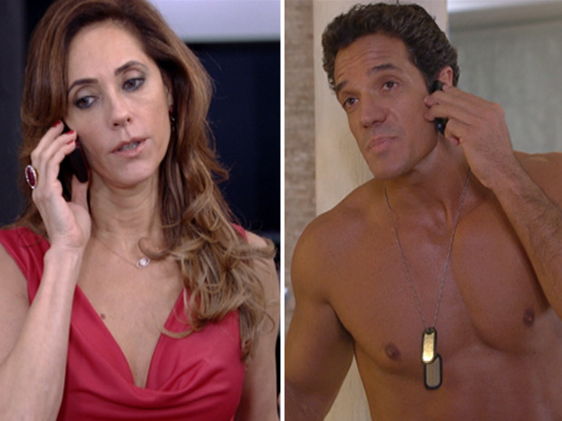 Tereza Cristina promete despachar Ferdinand para fora do país depois que ele matar Griselda (Foto: Fina Estampa/TV Globo)