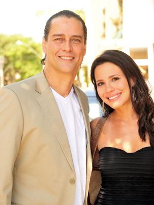Marcello Antony e Juliana Knust vão viver par romântico (Foto: Fina Estampa / TV Globo)