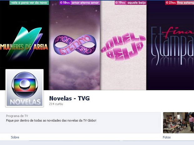 Fan page das novelas (Foto: Fina Estampa/TV Globo)
