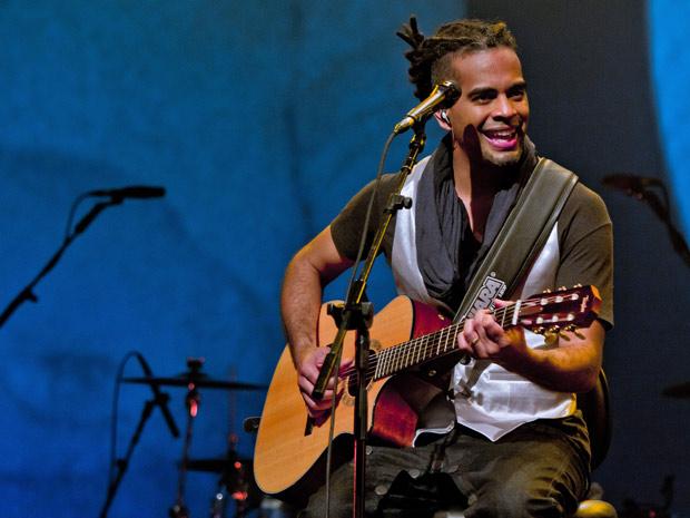 Jair Oliveira se inspirou nas grandes divas do Jazz (Foto: Fina Estampa / TV Globo)