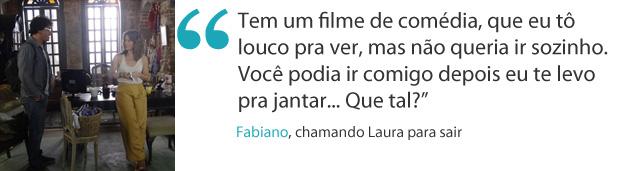 frases da semana laura e fabiano (Foto: Malhação / Tv Globo)
