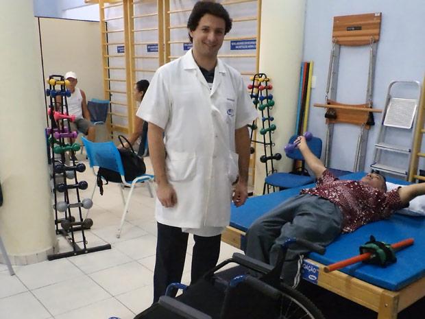 Alexandre Reis, fisioterapeuta da Associação Brasileira Beneficente de Reabilitação  (Foto: Arquivo Pessoal)