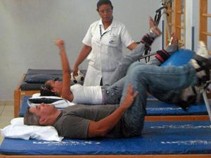 """""""Fisioterapia é fundamental na reabilitação dos pacientes"""", afirma Reis (Foto: Arquivo Pessoal)"""