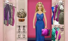Ajude Teodora a se vestir e veja se ela aprova look (Fina Estampa/TV Globo)