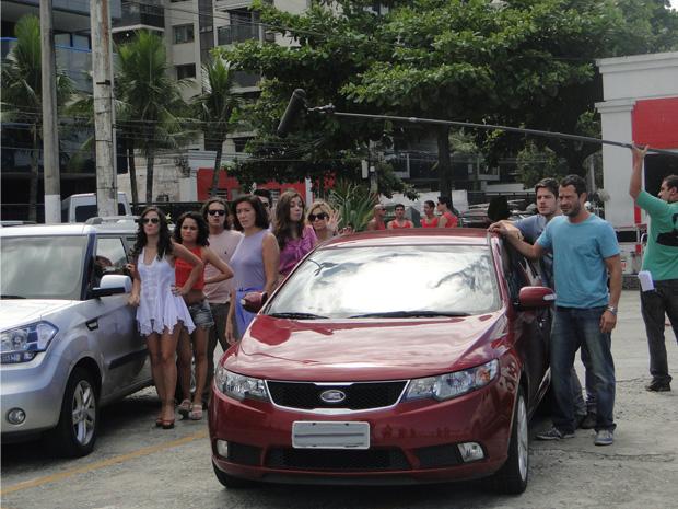 Bastidores segunda 19 de março___1 (Foto: Fina Estampa/TV Globo)