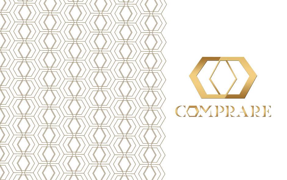 Luiza Serpa criou a logomarca da Comprare em parceria com Betty Prado e Moa Batsow