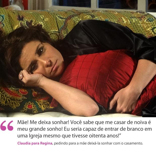 Claudia (Foto: Aquele Beijo/TV Globo)