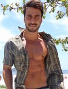 Julio Rocha comenta ensaio fotográfico de Enzo (Fina Estampa/TV Globo)