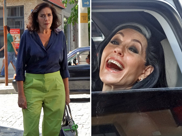 Tereza Cristina  (Foto: Fina Estampa/ TV Globo)