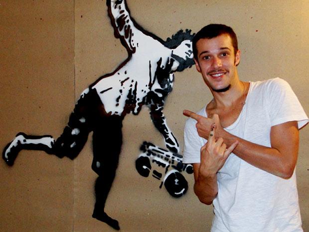 Jayme viverá o intenso Rodinei (Foto: Cheias de Charme / TV Globo)