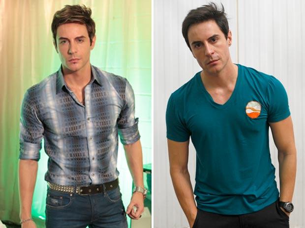 Inácio e Fabian se parecem, mas as personalidades são muito diferentes (Foto: Cheias de Charme / TV Globo)