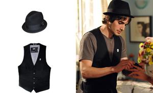 Fiuk emprestou roupas para Agenor! Veja peças marcantes do figurino (Aquele Beijo/TV Globo)