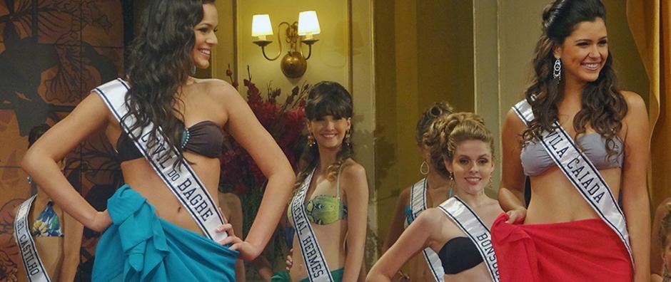 Confira as fotos do concurso Senhorita Rio de Janeiro (Aquele Beijo/TV Globo)
