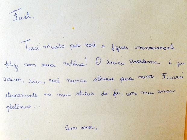 Carta Bia Arantes  (Foto: Malhação / TV Globo)