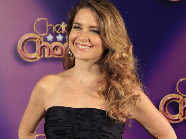 Cláudia Abreu diz que usaria as roupas de Chayene (Foto: Divulgação/TV Globo)