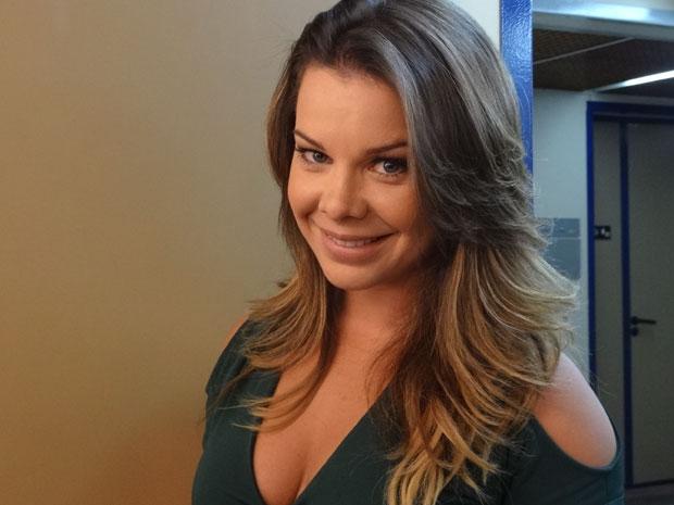 Fernanda Souza (Foto: Aquele Beijo/TV Globo)