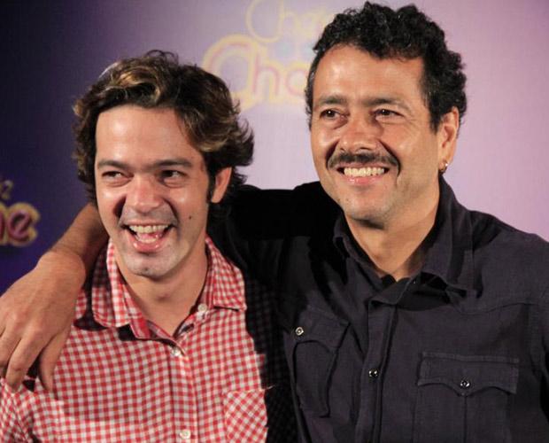 Bruno Mazzeo e Marcos Palmeira  (Foto: Divulgação/TV Globo)