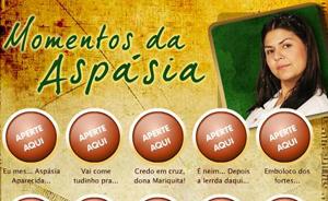 Mate as saudades e relembre as frases engraçadas de Aspásia! (Araguaia/TV Globo)