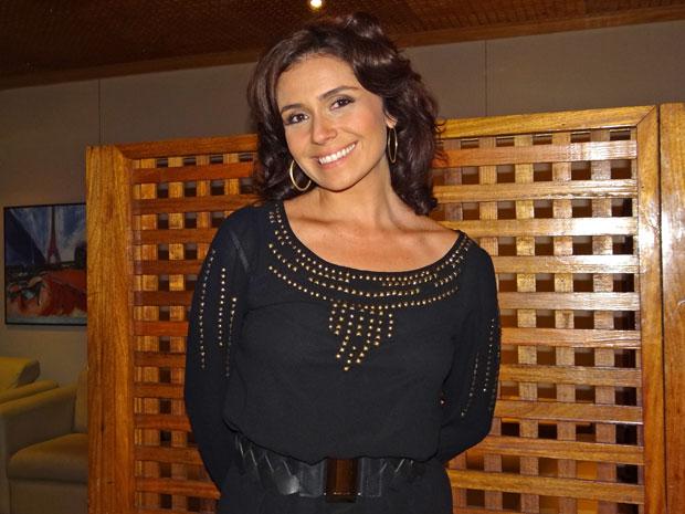 Giovanna Antonelli adora a Páscoa (Foto: Aquele Beijo/TV Globo)