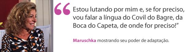 Maruschka_aspa (Foto: Aquele Beijo)