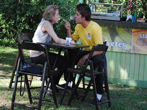 Betão acusa Babi de estar interessada em Guido (Foto: Malhação / Tv Globo)