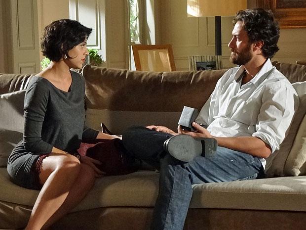 Miriam acredita que Melissa merece uma chance (Foto: Amor Eterno Amor/TV Globo)